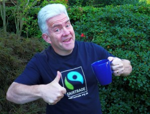 Ian McMillan supports Fairtrade Yorkshire