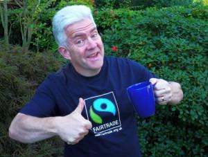 Ian McMillan supports Fairtrade Yorkshire