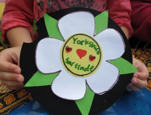 Fairtrade Yorkshire Rosette