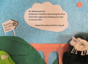 Go Baaaarmy - Fairtrade Yorkshire film competition