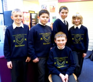 Pupils from Scarborough's St. Martin Church of England School