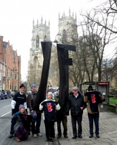 IF campaigners at York Minster