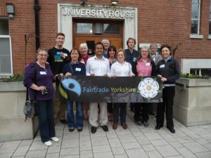 Campaigners at the 2013 Fairtrade Yorkshire Conference