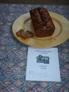 The winning fruit loaf