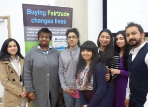 Members of Bradford College Student Union