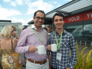 Ashraf Hamad, from York St. John University chats to Sam Chaher of Fairtrade Reading.