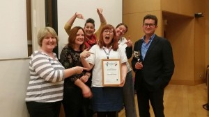 HolmeValleyFairtrade-BestMediaCampaign-RunnersUp-Award2015-GroupShot2