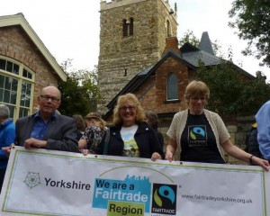 At the Fairtrade Yorkshire Supporter Conference in York