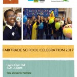 Leeds Fairtrade Schools Celebration 2017