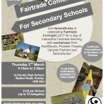 fairandfunky 2017 Fairtrade Conference for Secondary Schools, Huddersfield