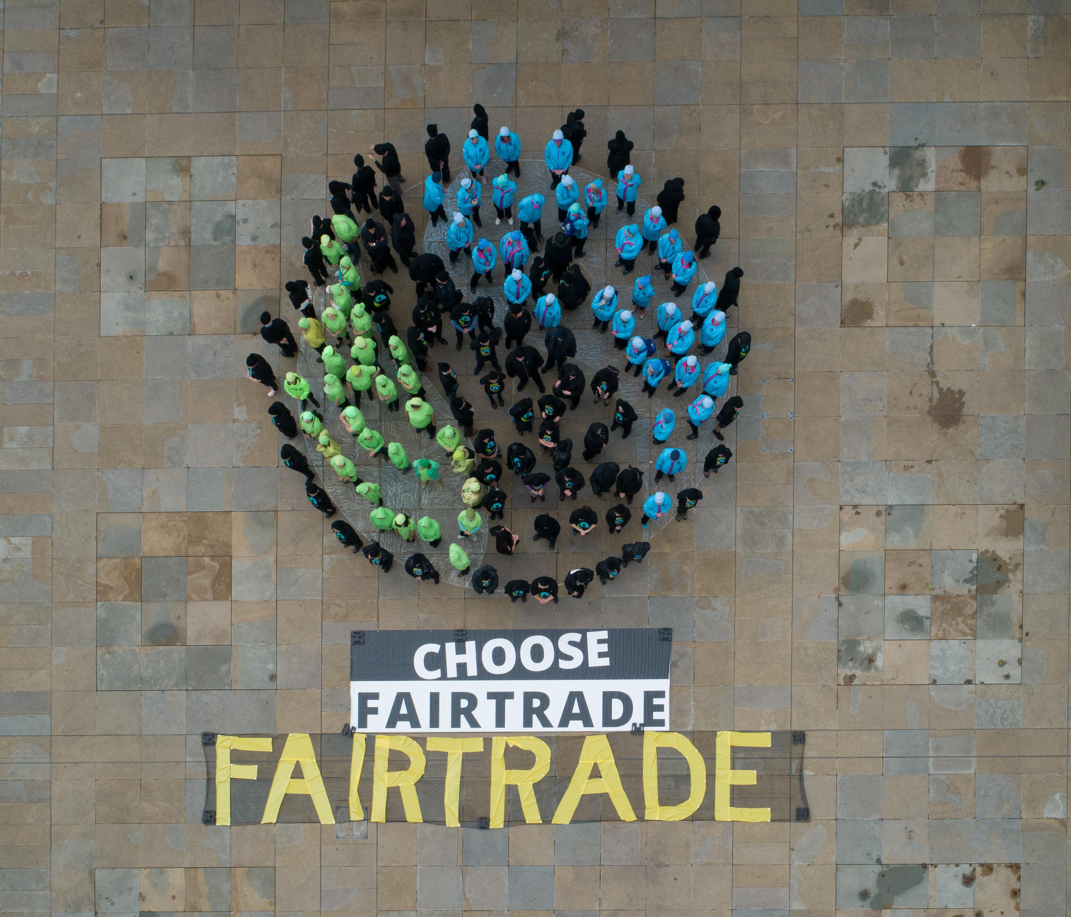 hi res close up fairtrade mark